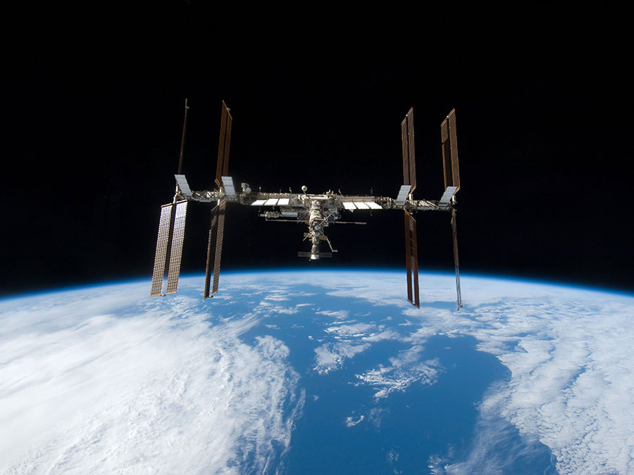 International Space Station 3D printing in space