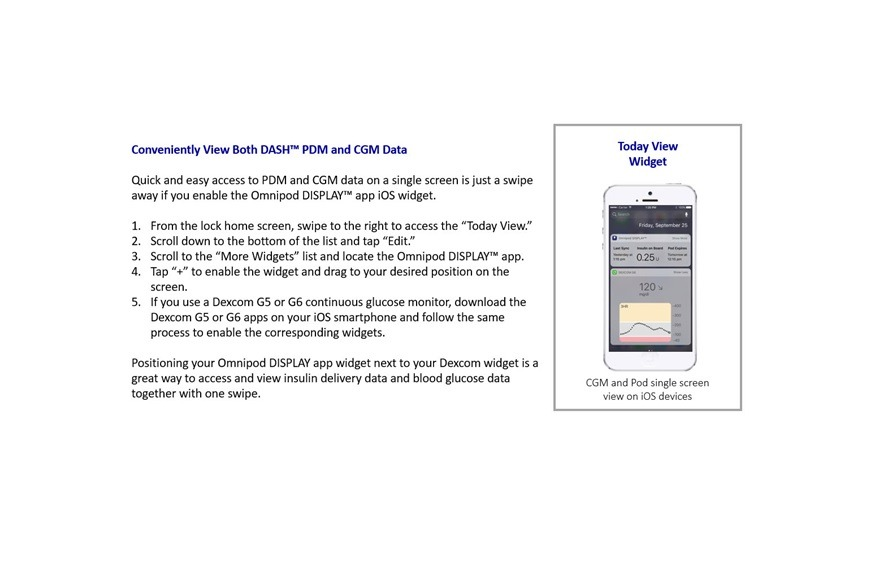 Insulet Omnipod DASH System mobile apps now available for