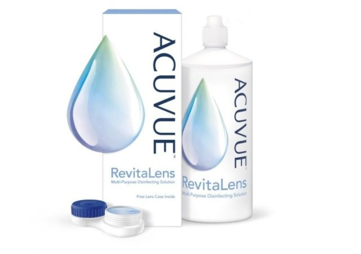 Johnson & Johnson launches ACUVUE RevitaLens multi-purpose disinfecting solution