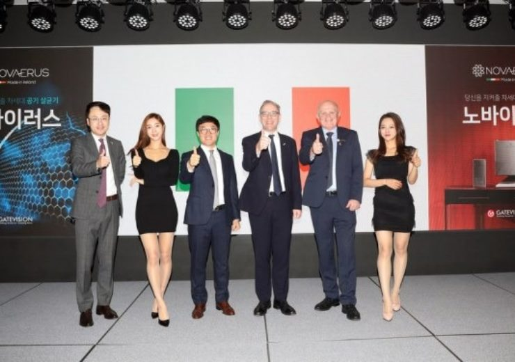 Novaerus partners with Gatevision to launch air dis-Infection solutions to South Korean market