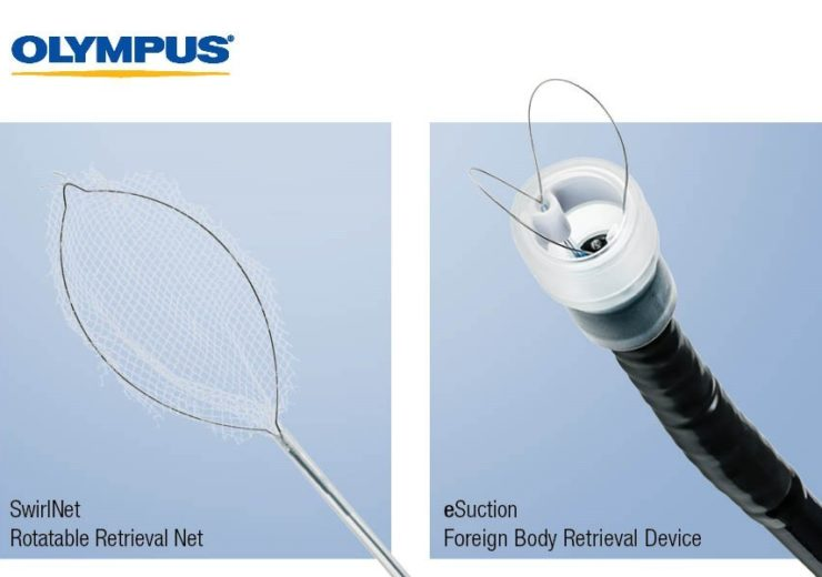 Olympus to distribute foreign body retrieval device SwirlNet in US