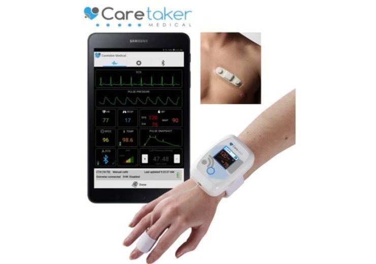 Caretaker ECG Patch