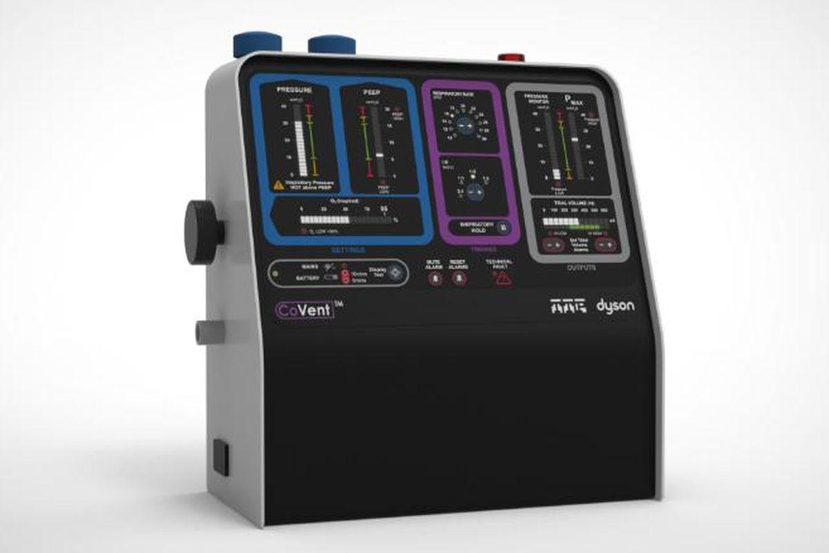 Dyson ventilator, companies ventilators shortage