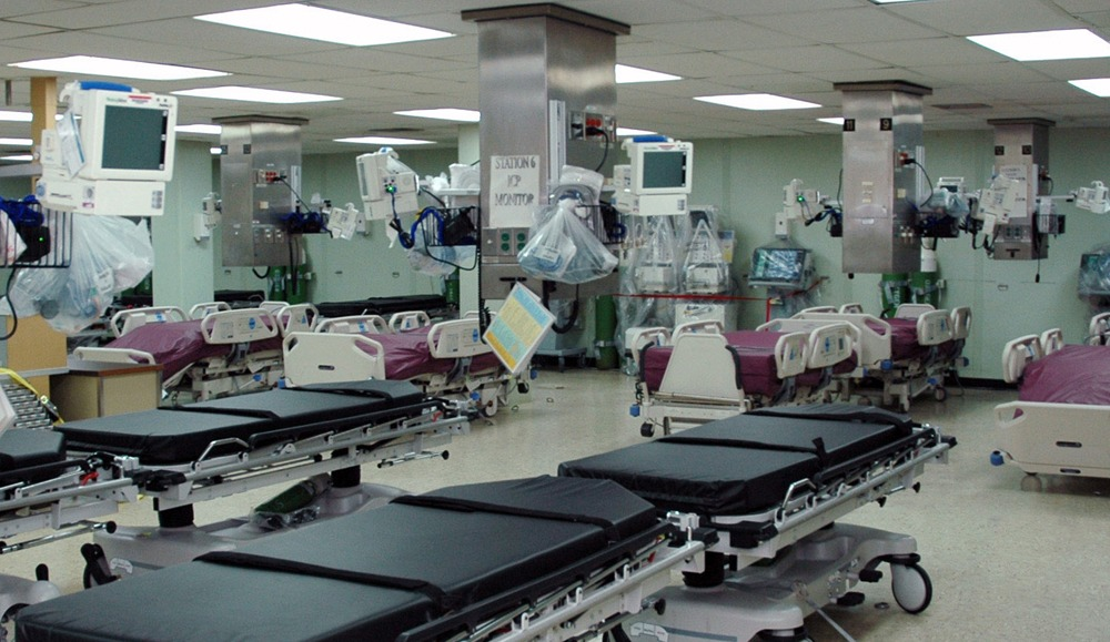 Medical devices in an acute care centre