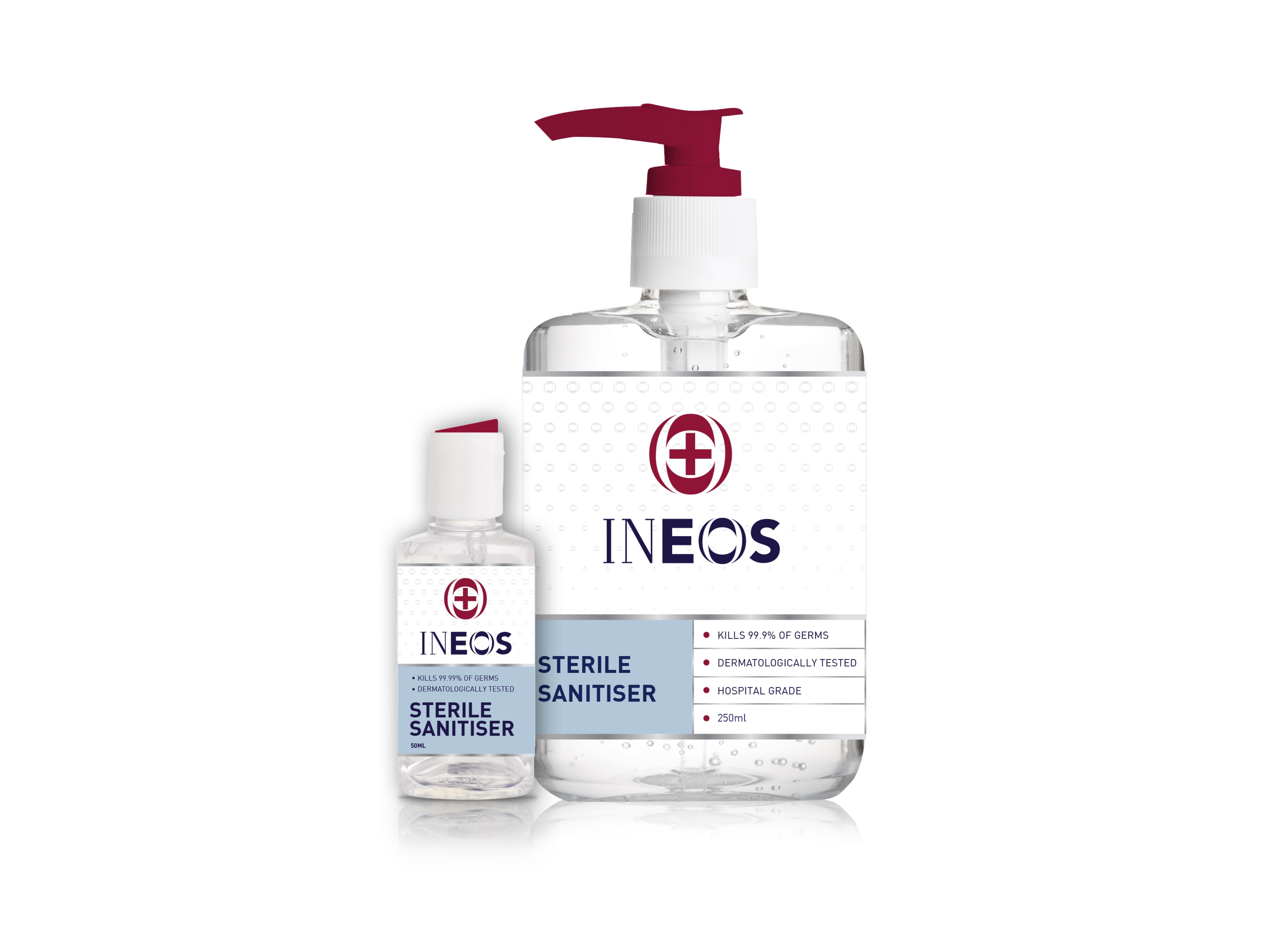 Ineos hand sanitiser, companies ventilators shortage