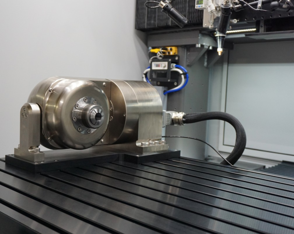 Mundt Rotary Tilt with Collet Closer