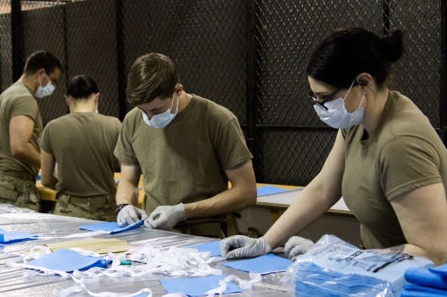Production of PPE, medical ventilators and vaccines will receive a $100m boost from the DOD (Credit: First Special Forces Group Public Affairs Office)
