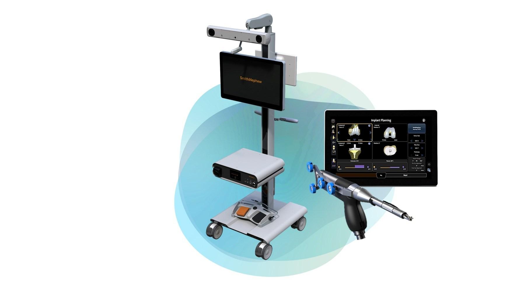 robotics surgery market smith nephew