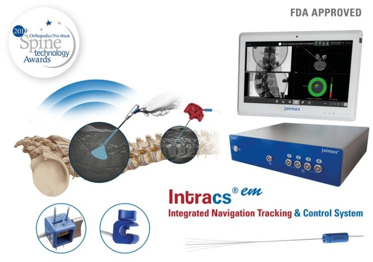 Joimax wins FDA approval for Intracsem navigation system for spinal surgery