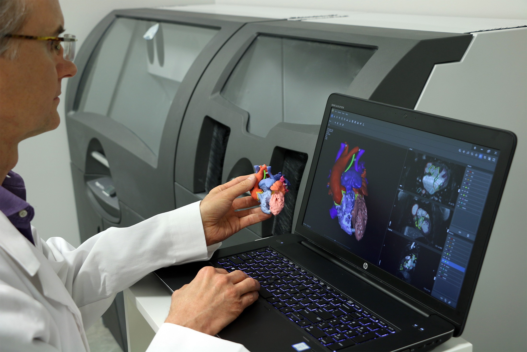 The advantages of using 3D printing to make more personalised equipment can be felt by surgeons and patients alike (Credit: 3D Systems)