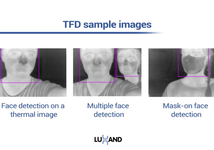 Luxand releases a new face recognition SDK with a thermal face detection feature to help fight COVID-19