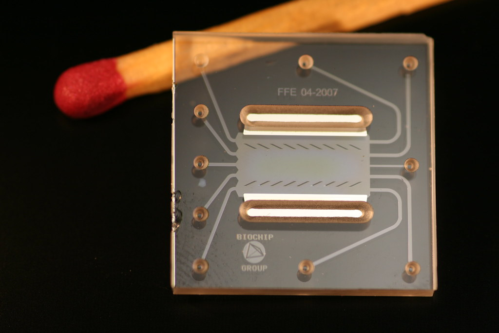 What applications does microfluidics have in medical device technology?