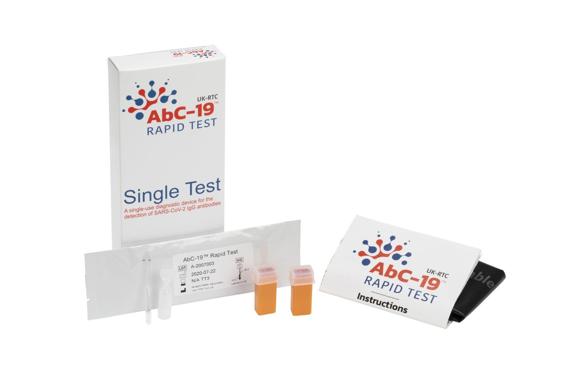 abc-19 antibody rapid test uk-rtc