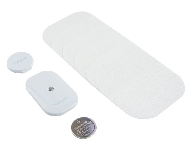 celsium smart wearable thermometer