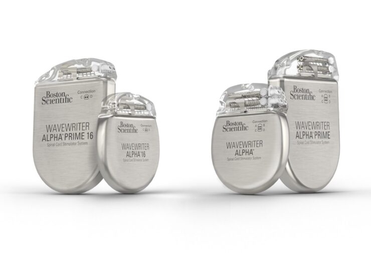 Boston Scientific launches WaveWriter Alpha spinal cord stimulator systems in US