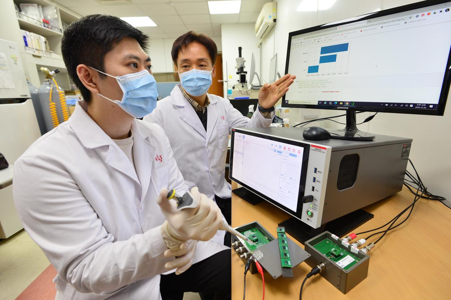 Korean researchers say prostate cancer diagnosis can be done using AI and urine