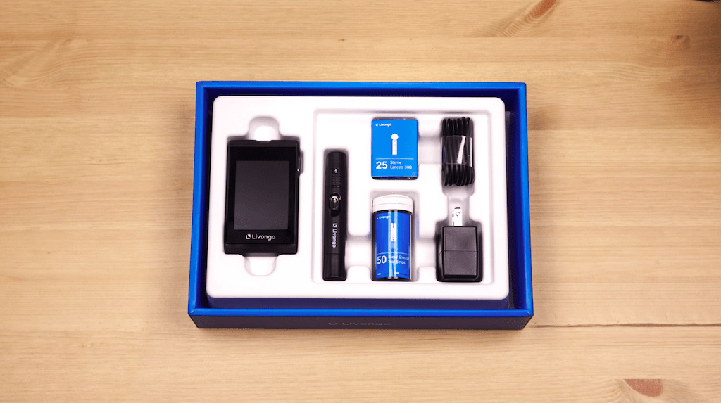 Livongo's first product to market was a set of tools and an app designed to manage diabetes (Credit: Livongo)