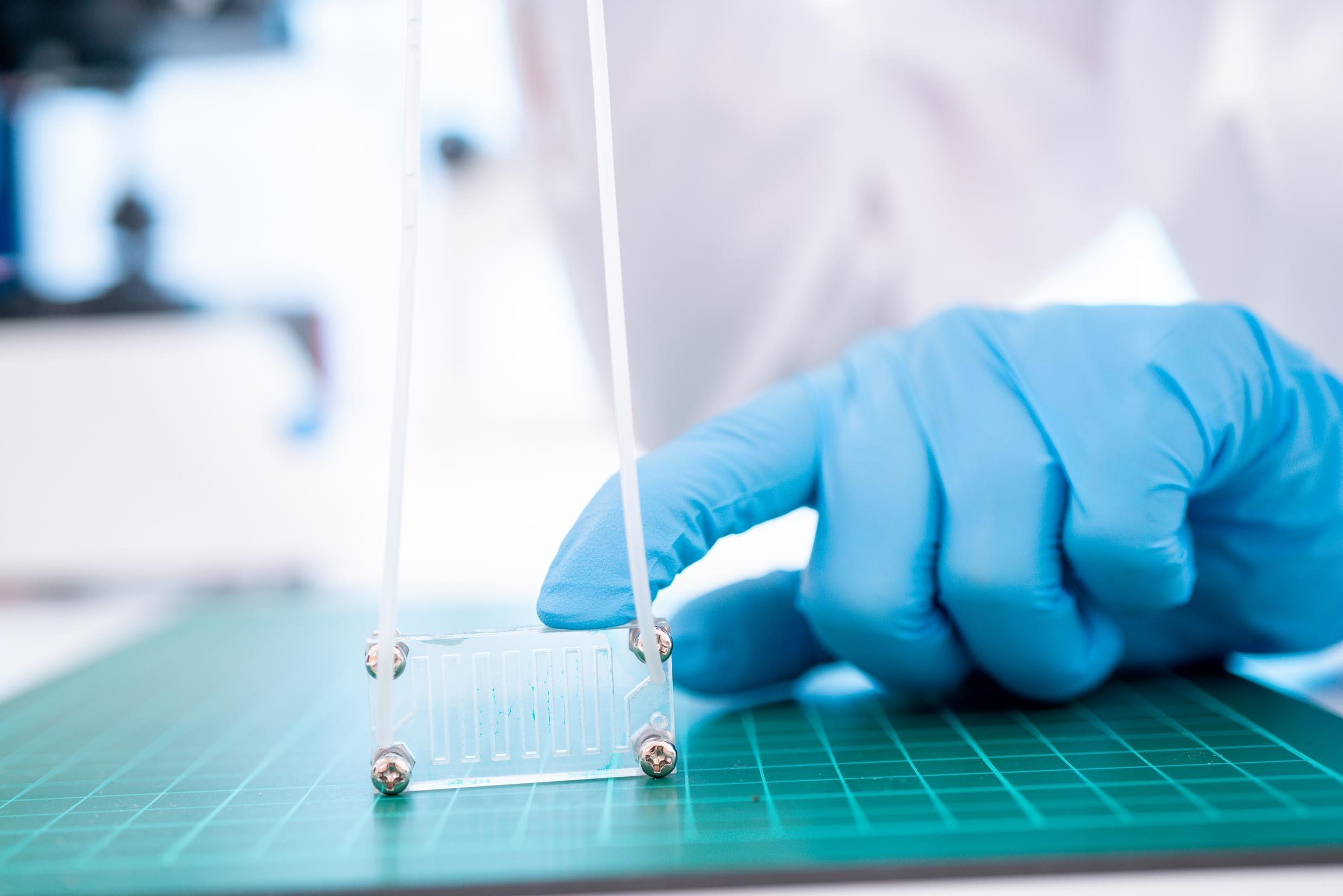 AI and microfluidics