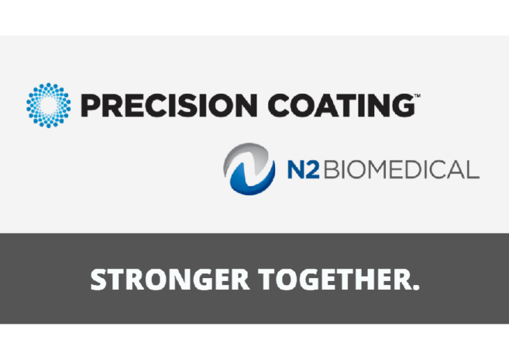 Precision Coating to merge with N2 Biomedical to expand medical coatings platform